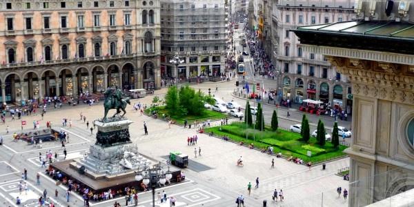 Milano: piazza Duomo